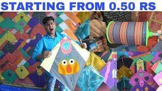 Cheapest Kite Market [Wholesale/Retail] | Mono Kite | Black | Jafrabad | Delhi