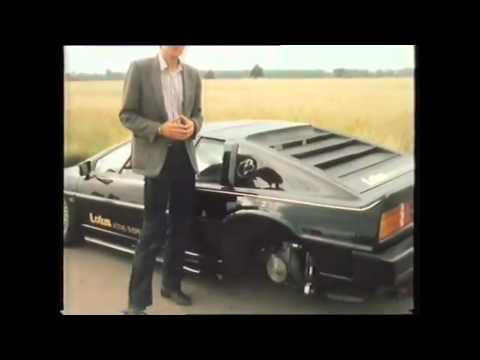 Esprit Suspension Top Gear 1983 series11 episode 1