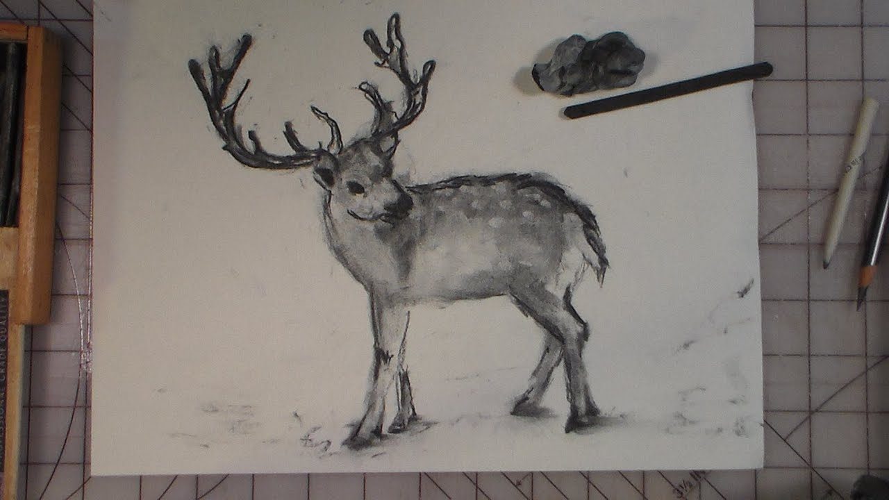 Uncategorized Drawing Of A Reindeer how to draw a reindeer youtube reindeer