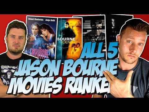 All 5 Jason Bourne Movies Ranked From Worst to Best (w/ The Bourne Identity 1988 Discussion)