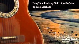 The Most Relax Guitar Music  ( Guitar 8 with Ocean waves.)