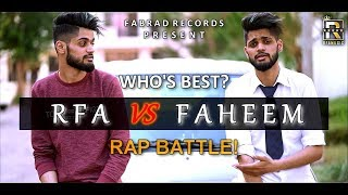 RFA VS FAHEEM | RAP BATTLE - Promo | Hip Hop Kashmir 2019
