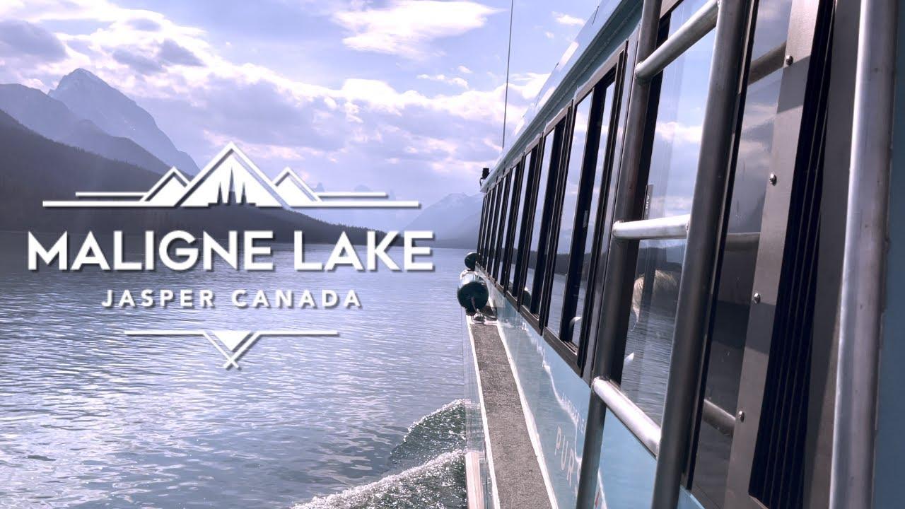 Maligne Lake Cruise by Pursuit : Lake Cruise to the World-Famous Spirit Island near of Jasper