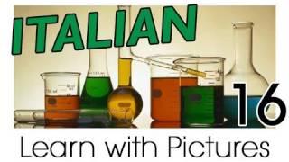 Learn Italian - Italian Study Subjects Vocabulary