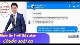 Nữ sinh nhắn tin Troll Thầy giáo soái ca - Em Yêu Anh Hơn Em Nghĩ (Sarah Le) - FUP Channel