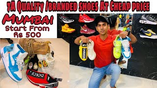 Best Shoes Collection in Mumbai || Start From 500 rs || Gucci Nike Addidas puma