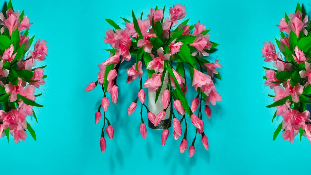 Cara Membuat Bunga Anggrek Hiasan Dinding Dari Plastik Kresek Diy Wall Hanging Craft Youtube