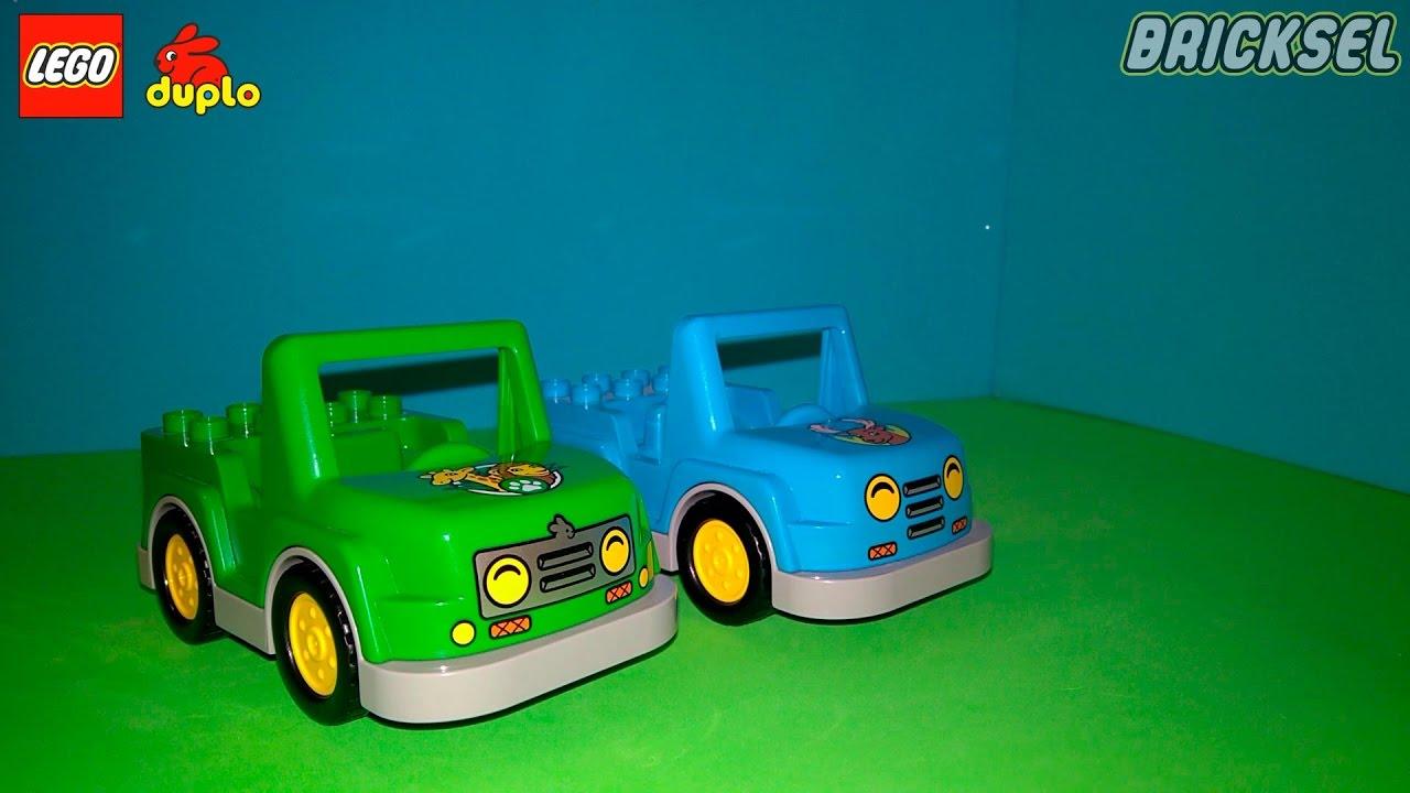 Машины LEGO DUPLO. Лесной заповедник и Африка (Cars LEGO DUPLO Forest Reserve and Africa set)