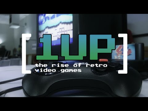 1UP The Rise of Retro Video Games