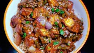 Paneer BBQ Rice|Restaurant Style Paneer Barbecue Rice Recipe|Chinese Paneer Recipe