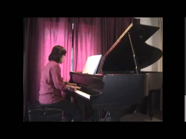 Cours de piano montreal. Montreal piano lessons: advanced  Bach