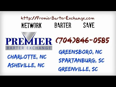 Premier Barter Exchange | B2b Bartering in NC and SC | (704)846-0585