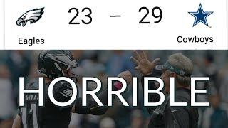 Eagles vs Cowboys Week 14 Reaction | Horrific First Half Offense Not Refs Is the Reason For Loss