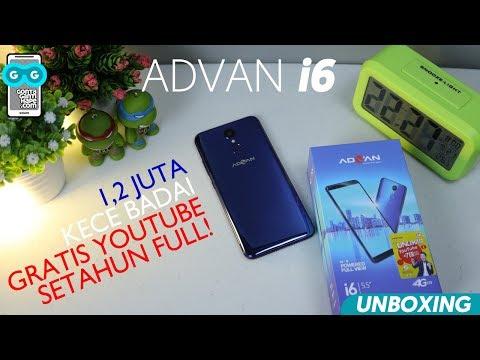 1,2-JUTAAN, Advan i6 / Brand Lokal / KECE / GRATIS Youtube Unlimited Setahun / Tapi...