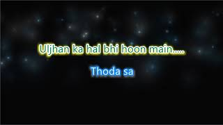 Mere Naam Tu - Zero - Karaoke with Lyrics