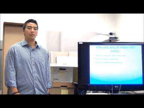 Alex C.: Why You Should Intern with HTDC