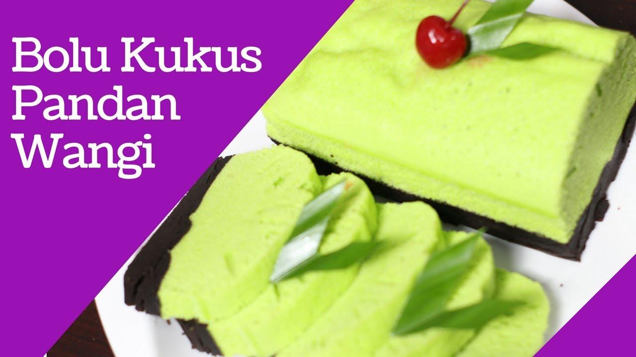 Resep Bolu Kukus Pandan Coklat Lembut Steamed Pandan Sponge Cake