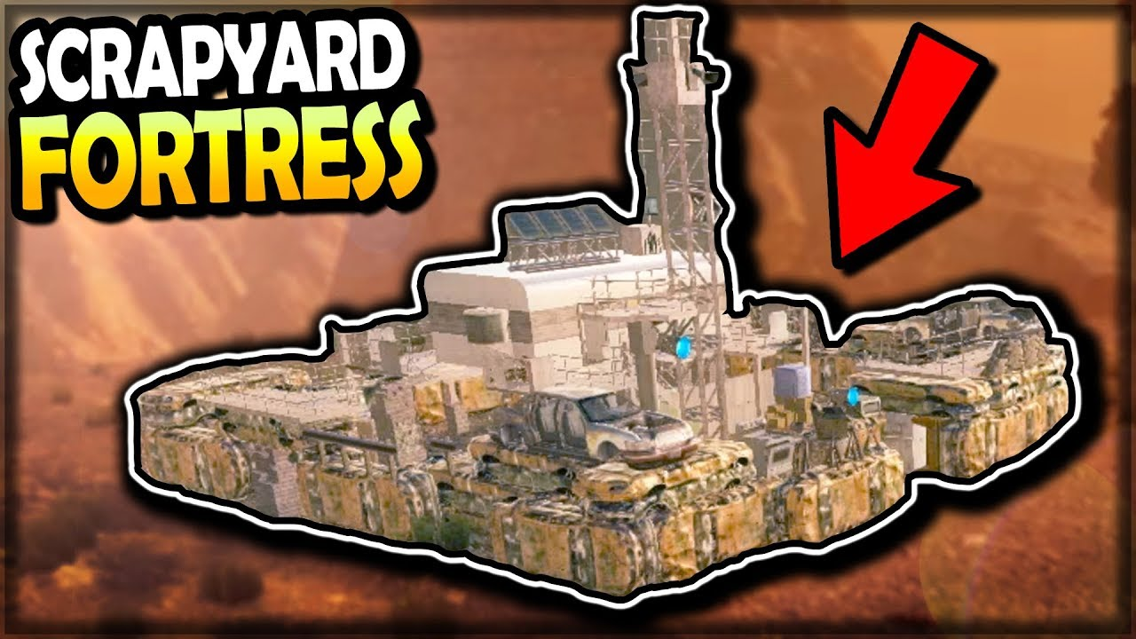 Scrapyard Fortress Looting Graveyard Can T Believe This Loot