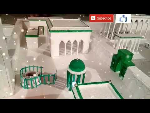 Beautiful Thermacol Ajmer Model making video letest best Tahir Raza Qadri letest Naat 2017