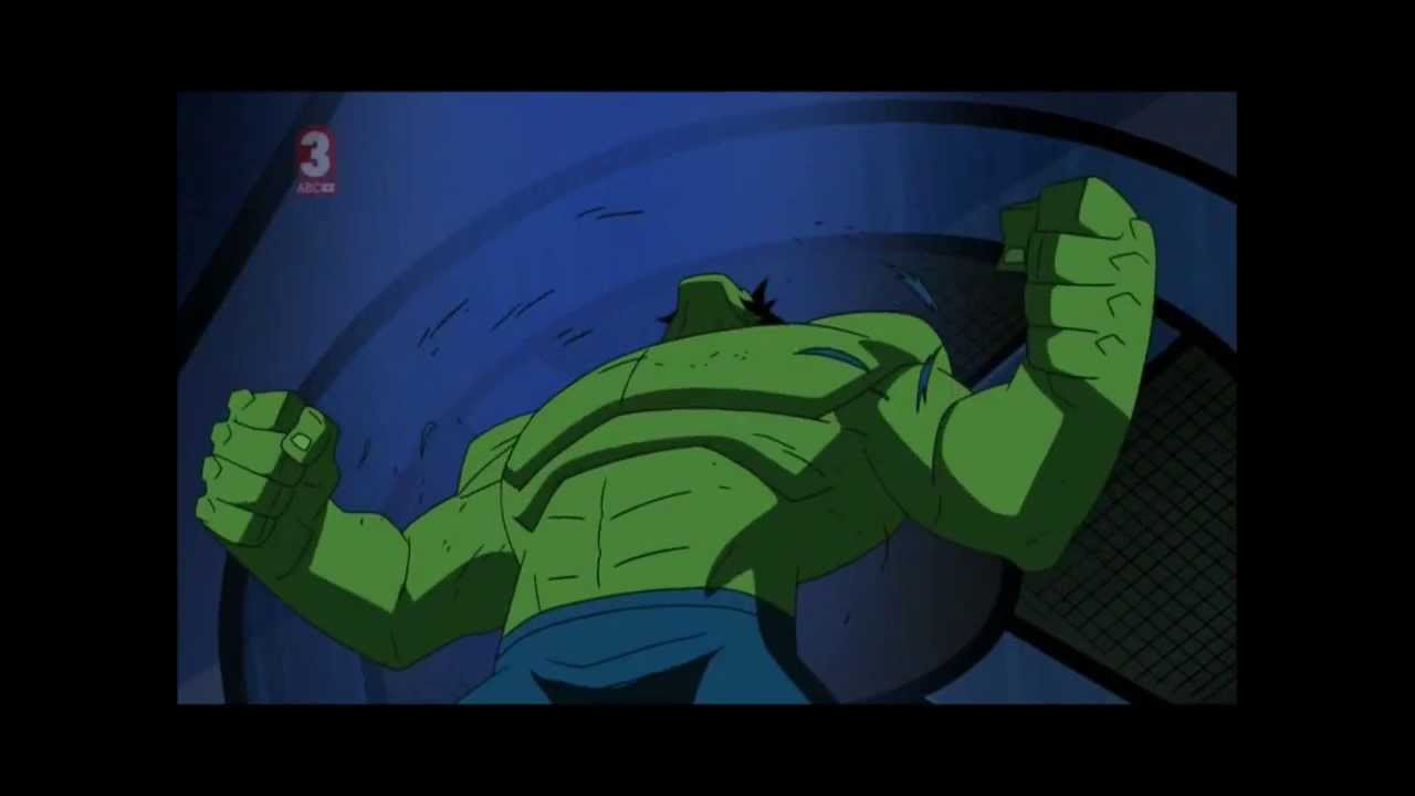 the avengers earth's mightiest heroes hulk transformations - YouTube