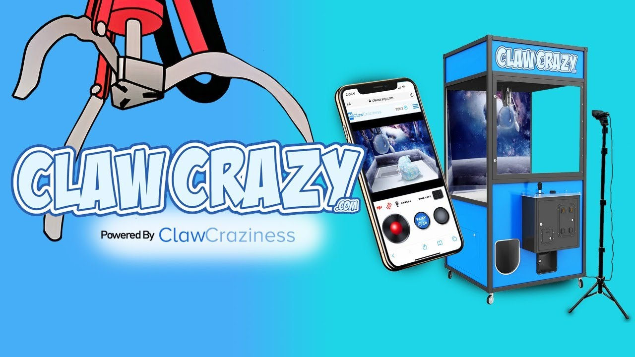 Play LIVE Claw Machines Now And Win BIG!