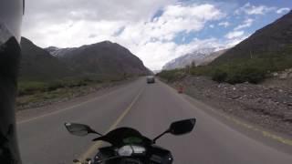 Ruta Cajon del Maipo / YAMAHA R3