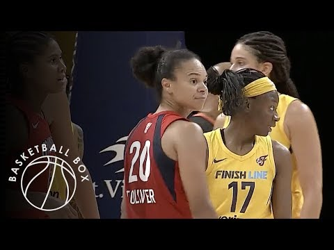 [WNBA] Washington Mystics vs Indiana Fever, Full Game Highlights, August 15, 2018