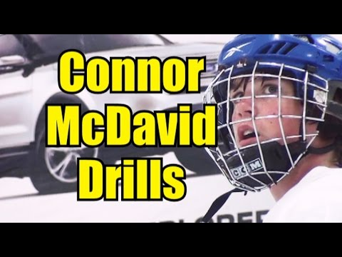Connor McDavid at 13! - On Ice Drills