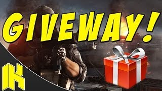 Subscriber GIVEAWAY! (ENDED) - Battlefield 4 Gameplay/Commentary