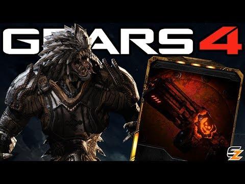 Gears of War 4 - Credits Improvements, Gearsmas, New Weapon Skins & Secret New Locust Character!