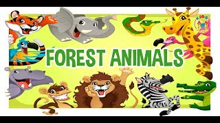 Learn about Forest Animals