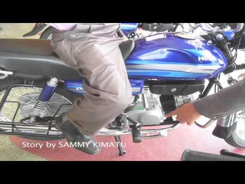 Ryce EA launch Hero motorcycle brand in Kenya