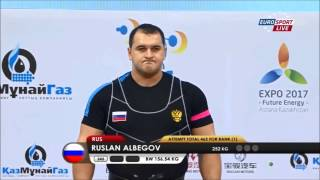 Ruslan Albegov at 2014 World Weightlifting Championship