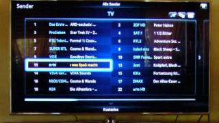 Samsung D8090 Smart TV - Senderliste + Guide/EPG - TRND