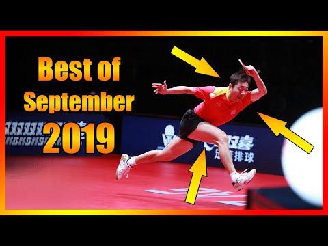 Best Table Tennis Points September 2019