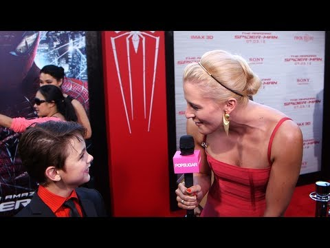 Max Charles Talks Playing Young Andrew Garfield in The ...