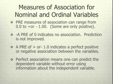correlation as a measure of association summary essay