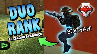 RANQUEADA DUO COM LOUD BRADOOCK NO FREE FIRE