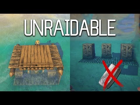 Ark - How to truly make your base UNRAIDABLE? [Tutorial]