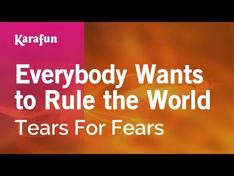 Karaoke Everybody Wants to Rule the World - Tears For Fears *
