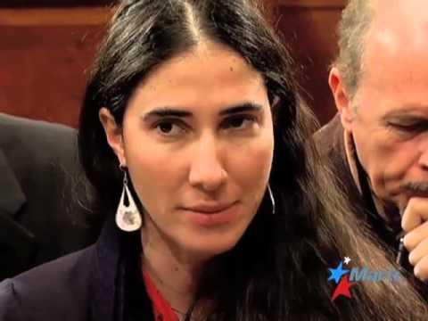 TV Martí Noticias — Yoani Sánchez pide que no se tema correr riesgos