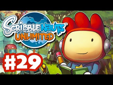 Scribblenauts Unlimited - Gameplay Walkthrough Part 29 - Camelcase Oasis (PC, Wii U, 3DS)