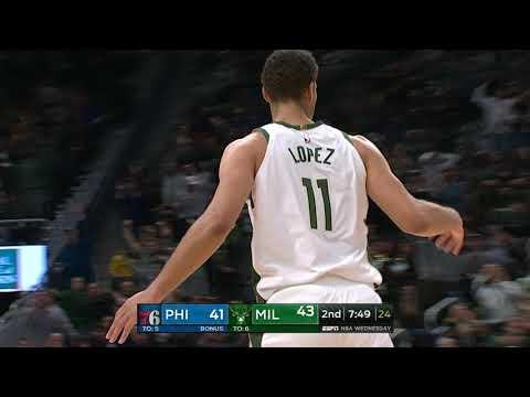 Philadelphia 76ers vs Milwaukee Bucks | October 24, 2018