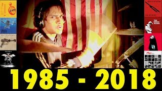 Dave Grohl's Entire Drumming Catalog *IN TEN MINUTES* (50th Birthday!)