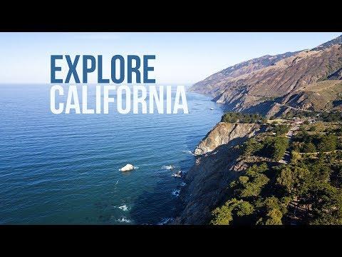 Explore California | A Drone Road Trip