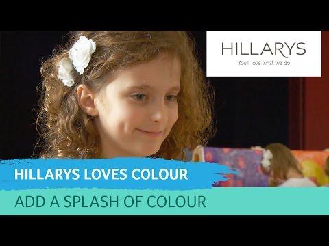 Add a splash of colour