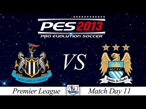 [TTB] PES 2013 Newcastle Utd Vs Man City - Playthrough Commentary, Master League Game 11