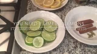 How To Make A Natural Air Freshner - በተፈጥሮ ውህዶች እንዴት የቤታችንን የአየር መዐዛ እንደምንቀይር