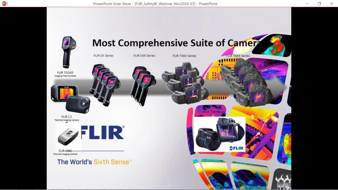 FLIR Infrared Cameras for Industrial Safety Webinar | Transcat