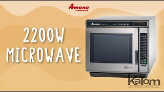 Amana 2200W Commercial Microwave (RC22S2)